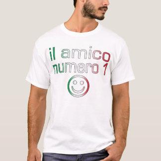 Il Amico Numero 1 in Italian Flag Colors for Boys T-Shirt