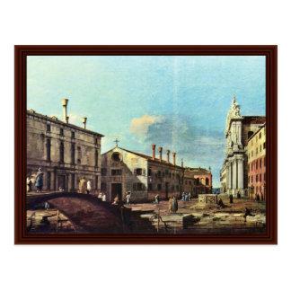 Il Campo Dei Gesuiti E La Chiesa A Venezia Postcards