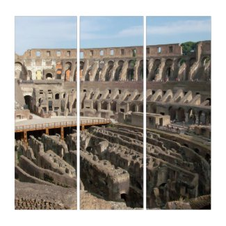 Il Colosseo Triptych