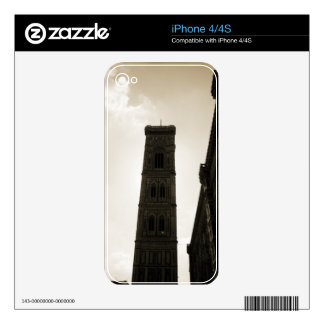 Il Duomo Di Firenze Bell Tower iPhone 4 Skins