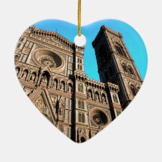 Il Duomo di Firenze Ceramic Ornament