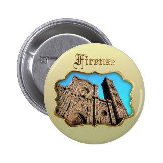 Il Duomo di Firenze Pinback Button