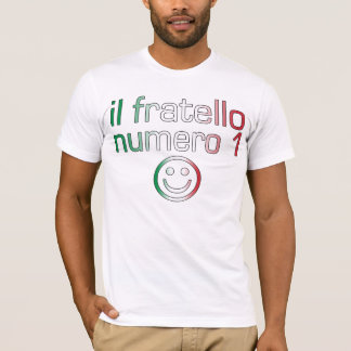 Il Fratello Numero 1 - Number 1 Brother in Italian T-Shirt