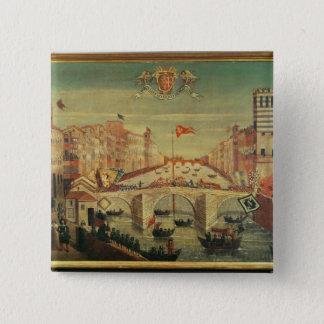 Il Gioco del Ponte dei Pisani Pinback Button