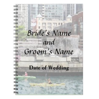 IL - Kayaking on the Chicago River Wedding Product Notebook