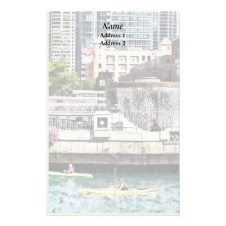 IL - Kayaking on the Chicago River Wedding Product Stationery