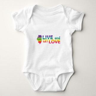 IL Live Let Love Baby Bodysuit