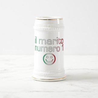 Il Marito Numero 1 - Number 1 Husband in Italian Beer Stein