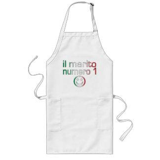 Il Marito Numero 1 - Number 1 Husband in Italian Long Apron