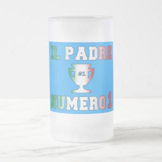 Il Padre Numero 1 #1 Dad in Italian Father's Day Coffee Mugs