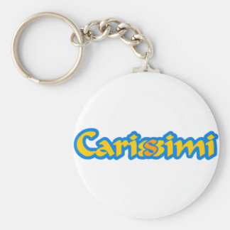 Il portachiavi dei Carisssimi Basic Round Button Keychain