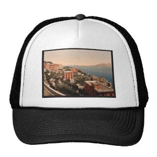 IL Posilippo y vintage de la costa, Nápoles, Itali Gorros Bordados