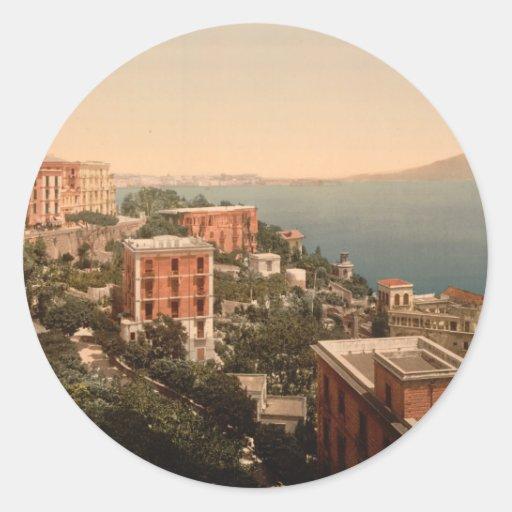 Il Posillipo, Naples Classic Round Sticker
