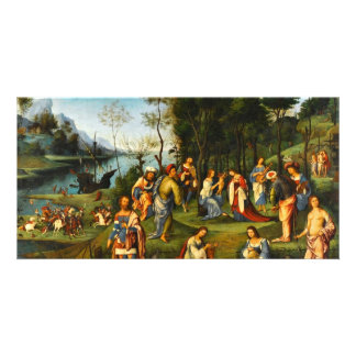 Il Regno Di Cosmo, Isabella D'Este In The Kingdom Customized Photo Card