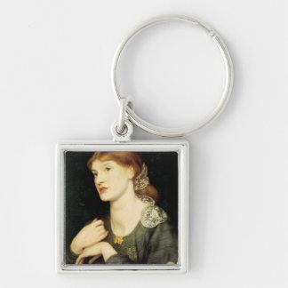 Il Romascello ( Bella e Buona ) by Rossetti Silver-Colored Square Keychain