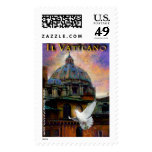 """""""Il Vaticano: New Pope, New Hope"""" by Mykel Ankyn Stamp"""