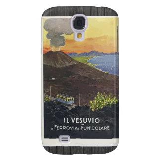 Il Vesuvio Ferrovia Funicolare Vintage Galaxy S4 Cover