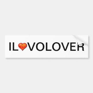 Il Volover Bumpersticker Bumper Stickers