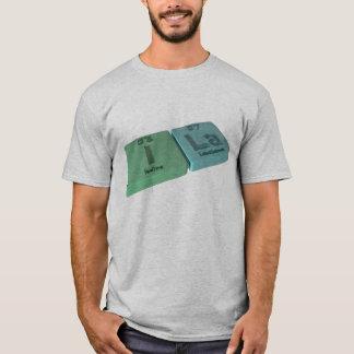 Ila as Iodine I  and Lanthanum La T-Shirt