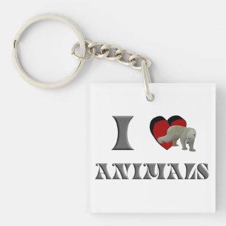 ILA polar bear Keychain
