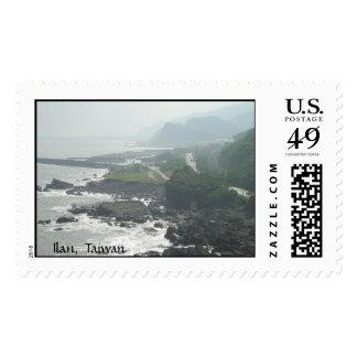 Ilan, Taiwan Postage