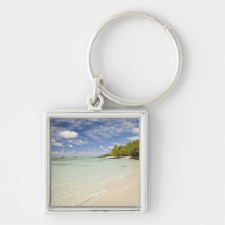 Ile Aux Cerf, most popular day trip for 2 Silver-Colored Square Keychain