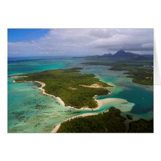 Ile Aux Cerfs, Mauritius Card