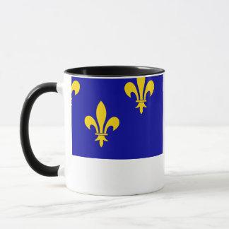 Île-de-France flag Mug
