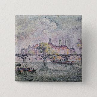 Ile de la Cite, Paris, 1912 Button