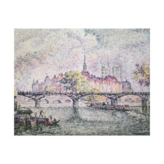 Ile de la Cite, Paris, 1912 Canvas Print