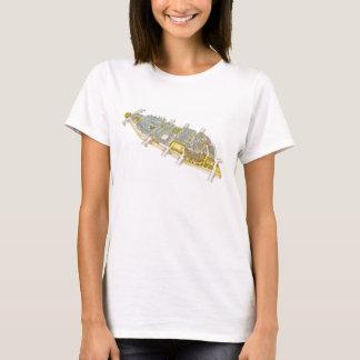 Ile-de-la-Cite. Paris France T-Shirt