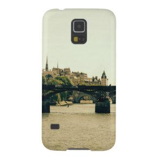 Ile De La Cite, Pont des Arts en París, Francia Carcasa Galaxy S5