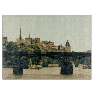 Ile De La Cite, Pont Des Arts in Paris, France Cutting Board