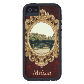 Ile De La Cite, Pont Des Arts in Paris, France iPhone SE/5/5s Case