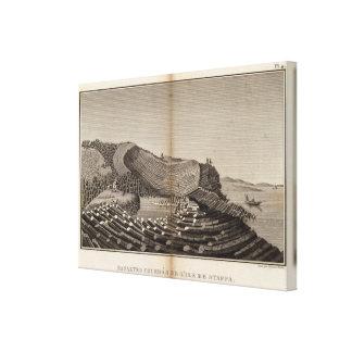 Ile de Staffa Canvas Print