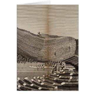 Ile de Staffa Greeting Card