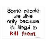 Ilegal matarles postal