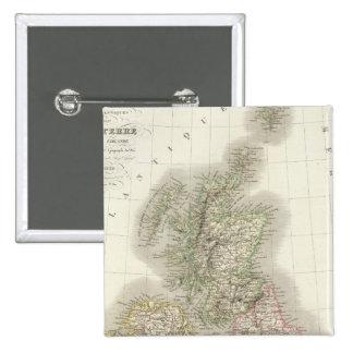 Iles Britanniques - British Isles Button