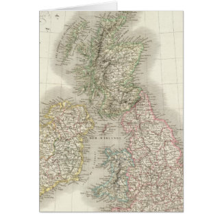 Iles Britanniques - British Isles Card