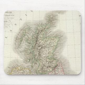 Iles Britanniques - British Isles Mouse Pad