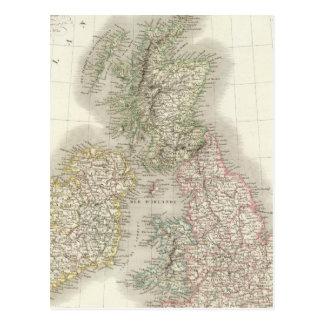Iles Britanniques - British Isles Postcard