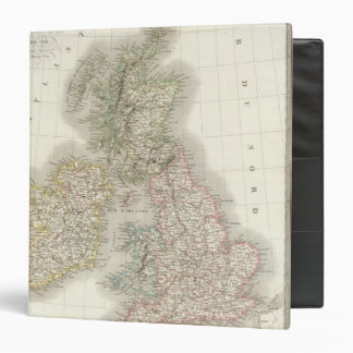 """Iles Britanniques - islas británicas Carpeta 1 1/2"""""""