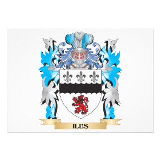 Iles Coat of Arms - Family Crest Announcements