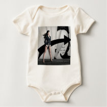 Ilhame Barbie Baby Bodysuit