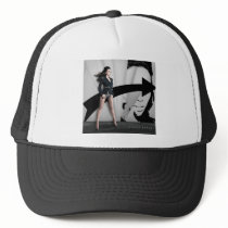 Ilhame Barbie Trucker Hat