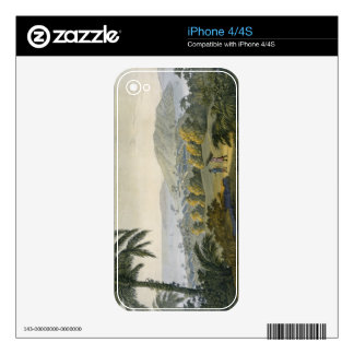 Ilheus (colour engraving) decals for iPhone 4S