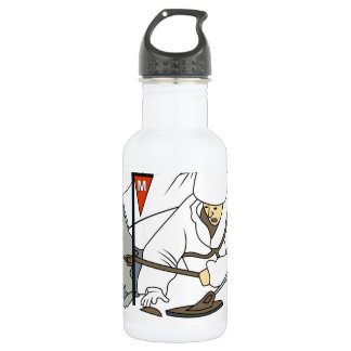 ilitary Working Dog service patch Water Bottle