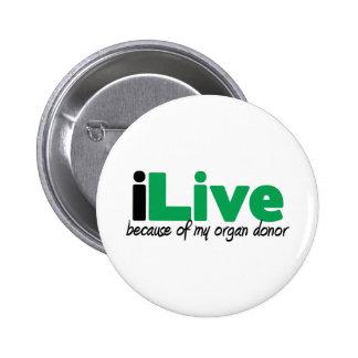 iLive Transplant Button