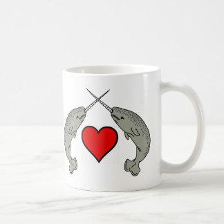 I'll Always Love You Twin Narwhals And Heart Mug