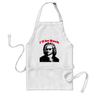 I'll Be Bach Adult Apron